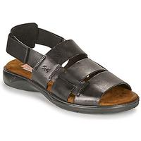 Schoenen Heren Sandalen / Open schoenen Fluchos 1200-SURF-NEGRO Zwart