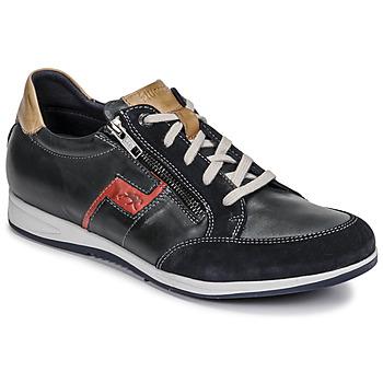 Schoenen Heren Lage sneakers Fluchos 0207-AFELPADO-MARINO Marine