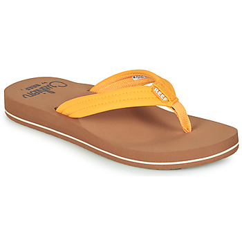 Schoenen Dames Teenslippers Reef REEF CUSHION BREEZE Geel