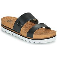 Schoenen Dames slippers Reef CUSHION VISTA HI Zwart
