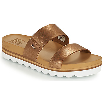 Schoenen Dames slippers Reef CUSHION VISTA HI Bruin