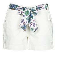 Textiel Dames Korte broeken / Bermuda's Freeman T.Porter GINGER MUZEY Sneeuw / Wit