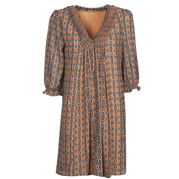 Textiel Dames Korte jurken Freeman T.Porter JUNA SAMBA Oranje