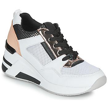Schoenen Dames Lage sneakers Tom Tailor JISEL Zilver
