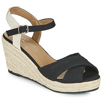 Schoenen Dames Sandalen / Open schoenen Tom Tailor NOUMI Zwart