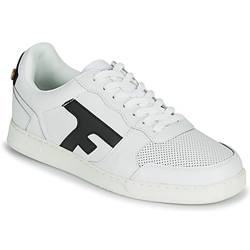 Schoenen Heren Lage sneakers Faguo HAZEL LEATHER Wit / Marine