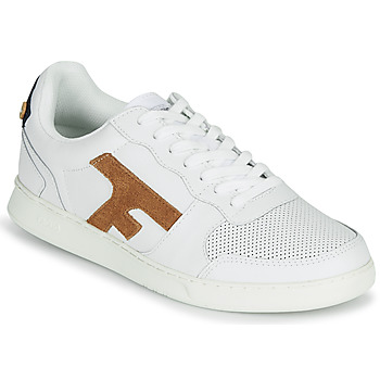 Schoenen Heren Lage sneakers Faguo HAZEL LEATHER Wit / Bruin
