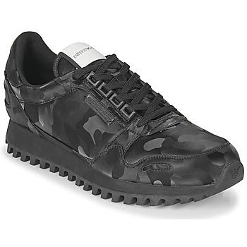 Schoenen Heren Lage sneakers Emporio Armani AUTRIA Zwart