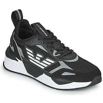 Schoenen Heren Lage sneakers Emporio Armani EA7 BLACES Zwart