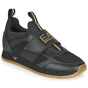 Schoenen Heren Lage sneakers Emporio Armani EA7 CALMONI Zwart