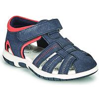 Schoenen Jongens Sandalen / Open schoenen Chicco FAUSTO Marine