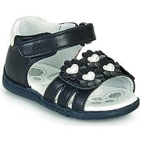 Schoenen Meisjes Sandalen / Open schoenen Chicco GIOSTRA Marine