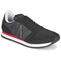 Schoenen Heren Lage sneakers Armani Exchange ESPACIA Zwart / Rood
