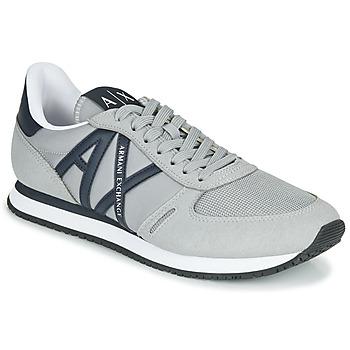 Schoenen Heren Lage sneakers Armani Exchange ESPACIA Grijs