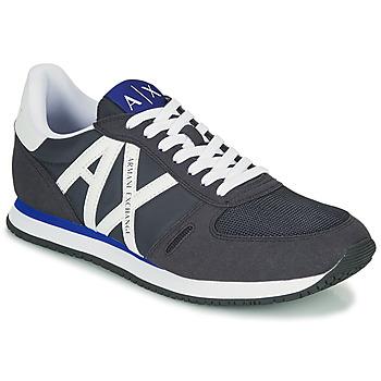 Schoenen Heren Lage sneakers Armani Exchange ESPACIA Blauw / Marine