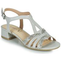 Schoenen Dames Sandalen / Open schoenen Caprice 28201-233 Beige