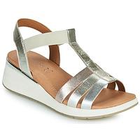 Schoenen Dames Sandalen / Open schoenen Caprice 28308-970 Zilver