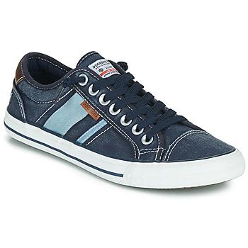 Schoenen Heren Lage sneakers Dockers by Gerli 42JZ004-670 Blauw