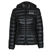 Textiel Dames Dons gevoerde jassen Emporio Armani EA7 8NTB23-TN12Z-1200 Zwart