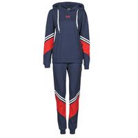 Textiel Dames Trainingspakken Emporio Armani EA7 3KTV65-TJ3PZ-1554 Marine / Wit / Rood