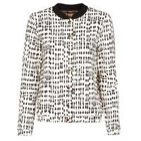 Textiel Dames Jasjes / Blazers One Step MADANY Ecru / Zwart