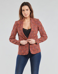Textiel Dames Jasjes / Blazers One Step VINNY Rood / Multicolour
