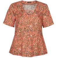 Textiel Dames Tops / Blousjes One Step CARA Rood / Multicolour