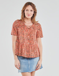 Textiel Dames Tops / Blousjes One Step CARA Rood / Multicolour