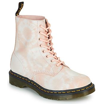 Schoenen Dames Laarzen Dr Martens 1460 PASCAL Beige