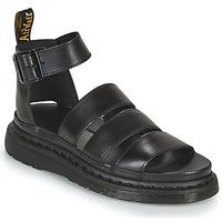 Schoenen Dames Sandalen / Open schoenen Dr Martens CLARISSA II Zwart