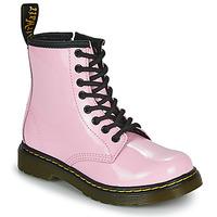 Schoenen Meisjes Laarzen Dr Martens 1460 J Roze