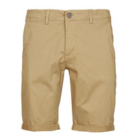 Textiel Heren Korte broeken / Bermuda's Teddy Smith SHORT CHINO Beige