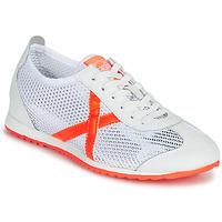 Schoenen Dames Lage sneakers Munich OSAKA 456 Wit / Oranje