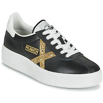Schoenen Dames Lage sneakers Munich BARRU SKY 62 Zwart / Goud