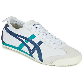 Schoenen Lage sneakers Onitsuka Tiger MEXICO 66 Wit / Blauw