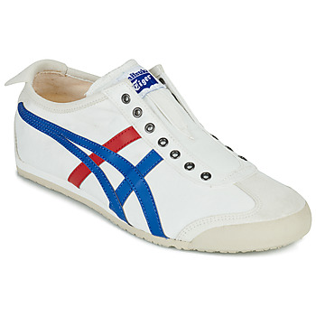 Schoenen Lage sneakers Onitsuka Tiger MEXICO 66 SLIP ON Wit / Blauw / Rood