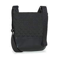 Tassen Heren Tasjes / Handtasjes Emporio Armani PIATTINA OMNIA JACQUARD - MESSENGER BAG Zwart