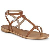 Schoenen Dames Sandalen / Open schoenen Les Tropéziennes par M Belarbi HILAN Tan