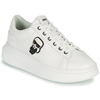 Schoenen Dames Lage sneakers Karl Lagerfeld KAPRI KARL IKONIC LO LACE Wit