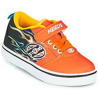 Schoenen Jongens Schoenen met wieltjes Heelys PRO 20 X2 Zwart / Oranje