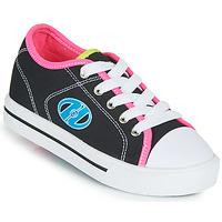 Schoenen Meisjes Schoenen met wieltjes Heelys CLASSIC X2 Zwart / Roze / Blauw