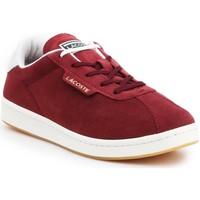 Schoenen Dames Lage sneakers Lacoste Masters 319 1 SFA 7-38SFA00032P8 burgundy