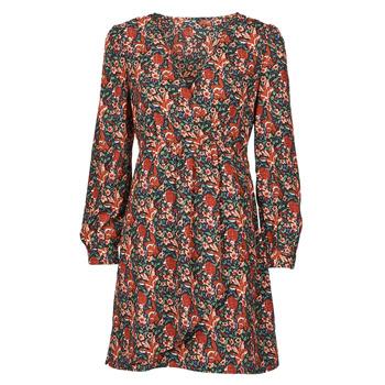 Textiel Dames Korte jurken Betty London NOMIM Zwart / Rood
