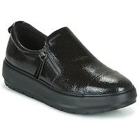 Schoenen Dames Lage sneakers Geox D KAULA Zwart