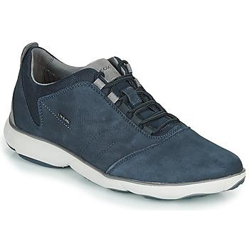 Schoenen Heren Lage sneakers Geox U NEBULA Blauw