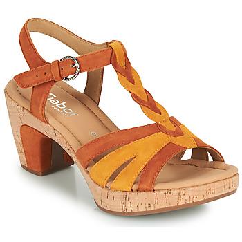 Schoenen Dames Sandalen / Open schoenen Gabor 6273442 Cognac