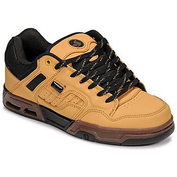 Schoenen Lage sneakers DVS ENDURO HEIR Bruin / Zwart