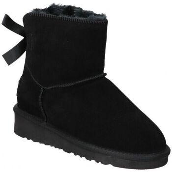 Schoenen Dames Snowboots Top3 BOTINES  20857 MODA JOVEN NEGRO Noir