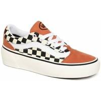 Schoenen Dames Lage sneakers Vans Shape ni (Checkerboard) Sunburn/Marshmallow VN0A4UVL24Y Oranje