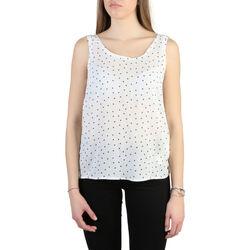 Textiel Dames Tops / Blousjes Armani jeans - c5022_zb Wit